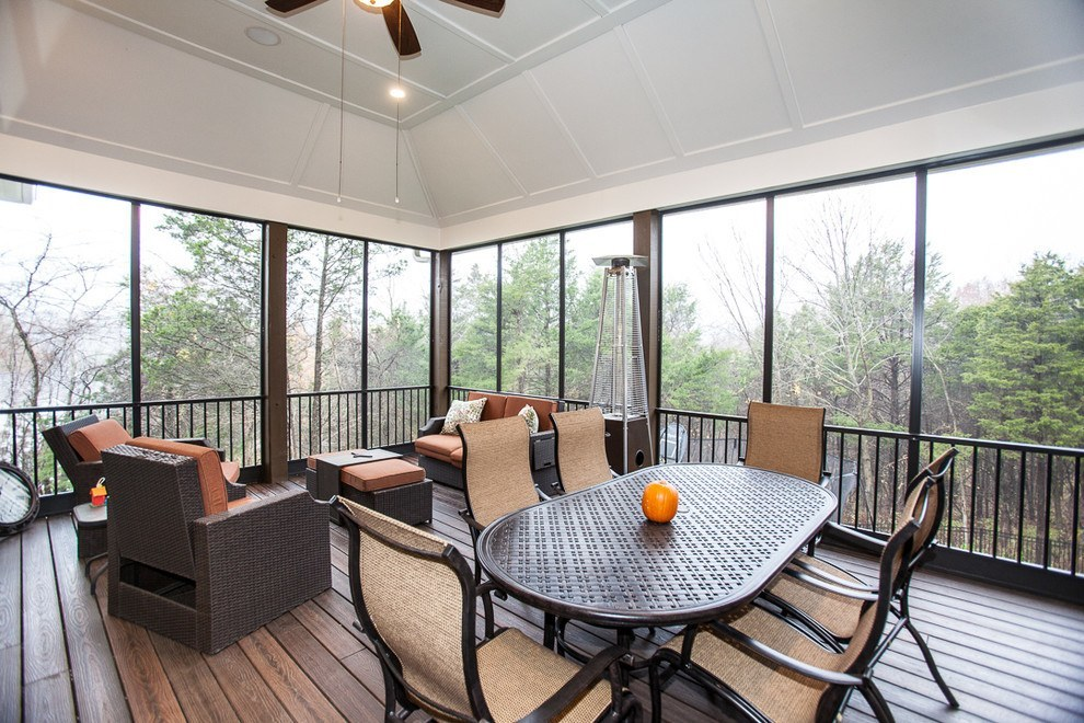 Rustic sunrooms hillview sunroom with rustic sunrooms for Rustic sunrooms